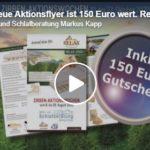 Relax2000, Aktionsflyer 150 Euro sparen für Bettensysteme, Oktober 2020, Ihr Markus Kapp