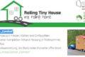Mini-Wohngebäude auf PKW-Anhänger, Tandem-Trailer, feuerverzinkt, gebremst, Stützrad, KBA-Serienzulassung