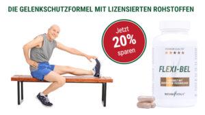 FLEXI-BEL -DIE GELENKSCHUTZFORMEL MIT LIZENSIERTEN ROHSTOFFEN, Natura Vitalis, Oliver Döll