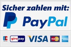 PayPal sicher zahlen, PayPal Zahlung, PayPal Konto, TVüberregional