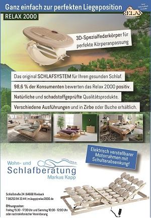 Relax2000 Bettensysteme Banner 300x432