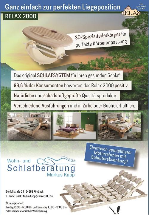 Relax2000 Bettensysteme Banner 500x720