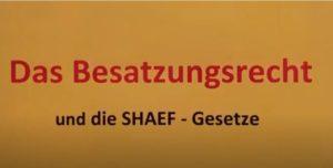 Sheaf übernimmt Deutschland 2020 - Das Besatzungsrecht und die SHAEF-Gesetze