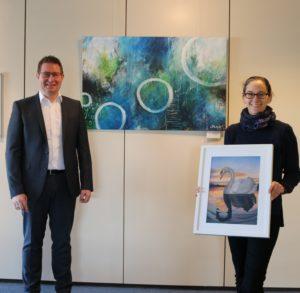 Am Freitag, den 20.11.2020 startete im Rathaus in Rauenberg die Onlinevernissage zur Kunstausstellung von Sandra Alisch.
