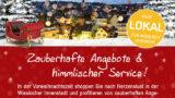 Die Stadt Wiesloch, das Stadtmarketing e.V. und die Wieslocher Geschäfte und Einzelhändler haben die Aktion ECHT.Weihnachtlich gestartet.
