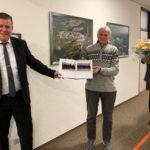 Die Verabschiedung des langjährigen Feuerwehr-Gerätewarts Willi Achtstätter