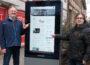 Digitales Schaufenster für die Stadt Hockenheim
