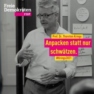 Wählen Sie Prof Dr Thorsten Krings  in den Landtag