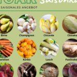 Ein Korb voll mit gesunden Tipps auch vegetarisch und vegan