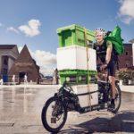 Kommt an: Lokal einkaufen und per Radkurier liefern lassen