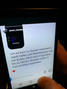 Konsequente Überwachungsmaßnahmen von Polizei und Stadt Mannheim sorgen im Bereich Lindenhof am Freitagabend für Ruhe und zeigen erste positive Wirkungen