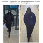 Mannheim – Raubüberfall: Wer erkennt die abgebildeten Personen oder kann weitere Hinweise geben?