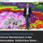 Schlimmer Monstersturm in den Wettermodellen. Gefährliches Wetter mit Orkanböen. Update Märzwinter.