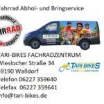 Tari – Bikes Verkaufsraum bis auf weiteres geschlossen
