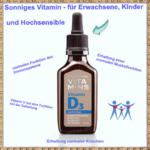 Vitamin D3 für Erwachsene, Kinder und Hochsensible