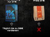 1% Club – Geld verdienen und erfolgreich mit Instagram