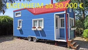 Rolling Tinyhouse, Eigenheim. Ruhig leben.