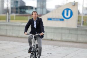 Umweltfreundliches Abgeordnetenfahrzeug gestohlen. Ein Dieb hat sich in Berlin das E-Bike von Olav Gutting geschnappt