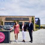 Wirtschaftsministerin Hoffmeister-Kraut besuchte das erfolgreiche Unternehmen in Waghäusel