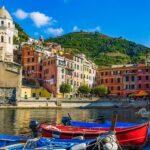 Ligurien entdecken und genießen, Ligurien, ein 300 Kilometer langer, schmaler Küstenstreifen entlang des Mittelmeers