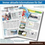 Relax 2000, Wohn- & Schlafberatung Markus Kapp, Odenwälder Zeitung